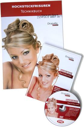 Hochsteckfrisuren DVD & Technikbuch